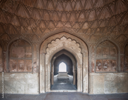 """Tomb of Safdarjung inside view, New Delhi, India"" Stock ..."