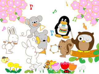 動物の春の音楽