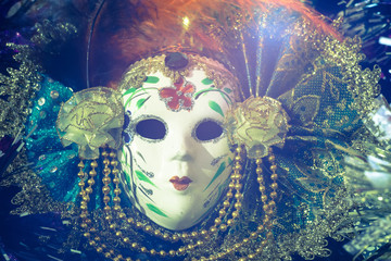 Elegant Venetian Mask