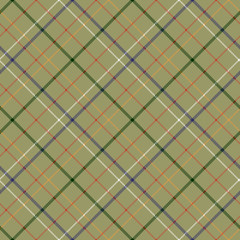 Сheckered diagonal tartan seamless fabric texture