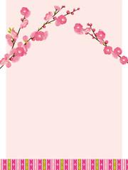 桃の花 ひなまつり背景