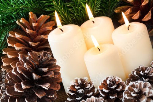 Advent Weihnachten Dekoration Stockfotos Und