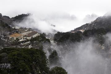 Huangshan (Yellow Mountains) China.