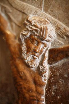 The suffering of Jesus, Gottweig Benedictine Abbey, Gottweig, Lower Austria, Austria