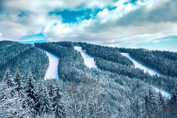 Carpathian mountains nature vacation mountain