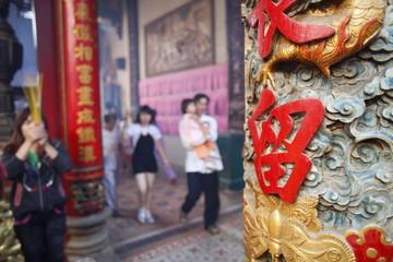 Thien Hau Temple, Ho Chi Minh City, Vietnam, Indochina, Southeast Asia, Asia