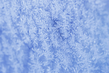 Texture of frost