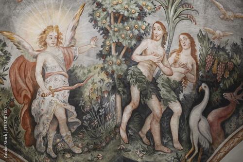 the influence of the garden of eden through temptation