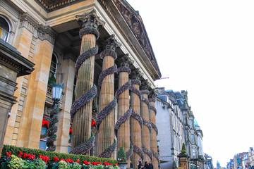 The Dome during Christmas, Edinburgh, United Kingdom