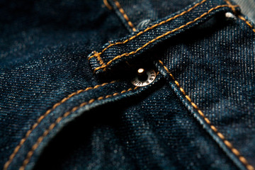 jeans pocket closeup fashion denim background