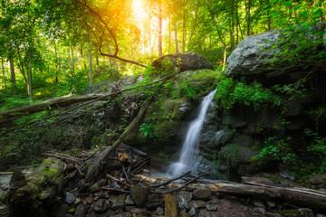 Dunnfield Creek Sunrise in New Jersey