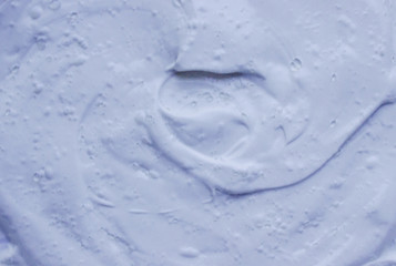 the texture of the clay mask for the face and body.