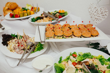 wedding food catering eat