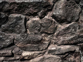 Cliff rocks in nature  texture background