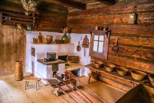 Old room in Zuberec