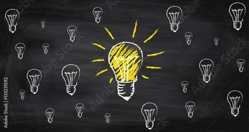 gro e gl hbirne leuchtet im genes de archivo y vectores libres de derechos en. Black Bedroom Furniture Sets. Home Design Ideas