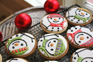 Freshly Baked Christmas Cookies