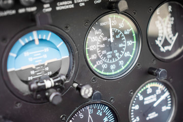 Helicopter Airspeed Indicator Gauge