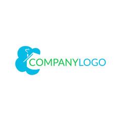 Logo dla firmy - architektura, biuro nieruchomości, wystrój wnętrz - chmurka z domem