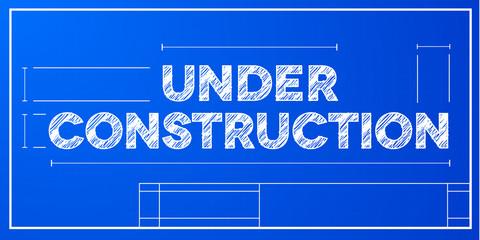 blueprint concept under construction