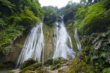 Beautiful Mele-Maat cascades in Port Vila, Island of Efate, Vanuatu, South Pacific, Pacific