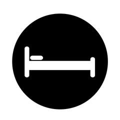 Bed icon illustration design
