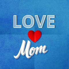 Love Mom Poster