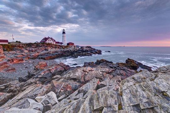 Portland Head Lighthouse, Portland, Maine, New England