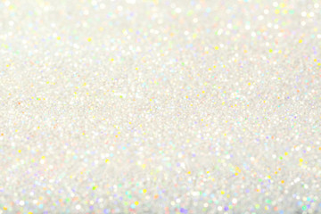 Light Background, Abstract Glitter Bokeh Decoration, Color Lights