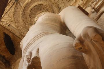 Jain sculpture of Gopachal Parvat,Gwalior fort, India