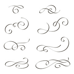 Design elements (swirls)