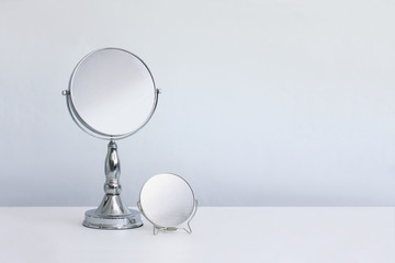 Makeup mirrors with