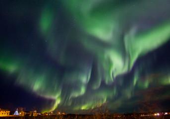 Northern lights night
