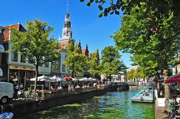 Canali di Alkmaar, Olanda - Paesi Bassi