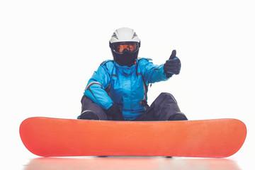 Winter sport, girl