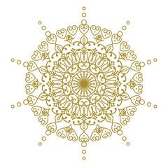 Decorative element mandala.