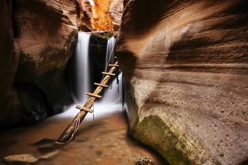 Kanarra Creek Canyon, Kanarraville, Utah, United States of America, North America
