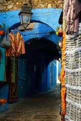 Street of Chauen, Morocco