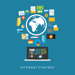 Internet content. Digital services.