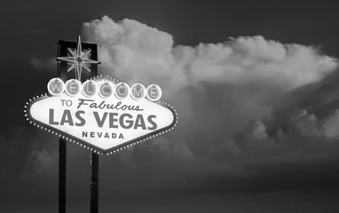 The Welcome to Fabulous Las Vegas sign in Las Vegas