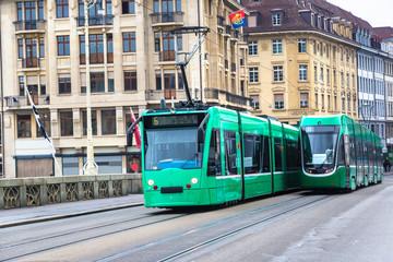 City tram in Basel