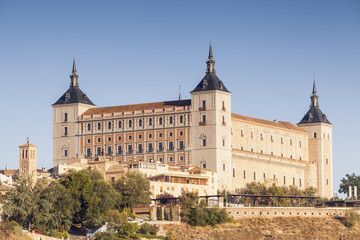 The Alcazar of Toledo, Spain, Europe