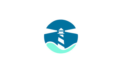 lighthouse circle design