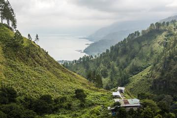Lake Toba (Danau Toba), the largest volcanic lake in the world, North Sumatra, Indonesia, Southeast Asia, Asia
