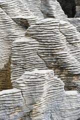Rock patterns at Pancake Rocks, Punakaiki, West Coast, South Island, New Zealand, Pacific