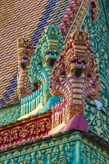 The hilltop temple of Wat (Phnom) Hanchey, on the Mekong River, Kampong Cham Province, Cambodia, Indochina, Southeast Asia, Asia