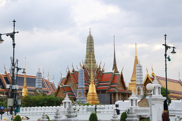 Wat pra kaew Public Temple Grand palace , Bangkok Thailand