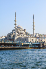 Yeni Cami (New Mosque), Istanbul Old city, Turkey, Europe