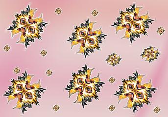 Абстрактный фон, текстура, принт, обои, нежный, розовый
