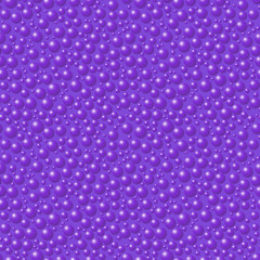 Bright seamless abstract pattern. Solid balls on a solid background. 3d